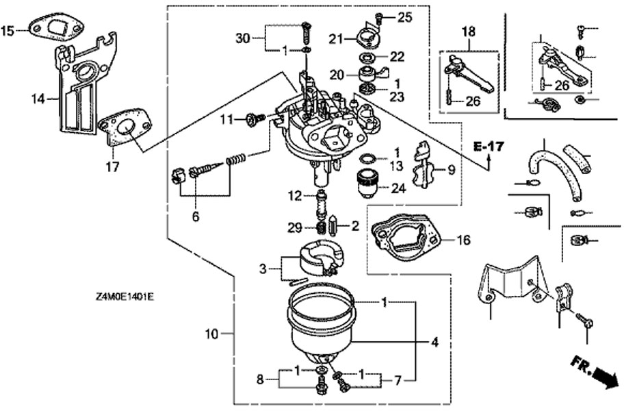 honda gx390 electric start wiring diagram  honda  wiring