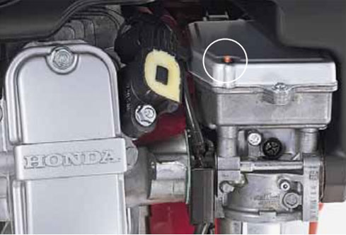 Self-Diagnostic Function honda igx440